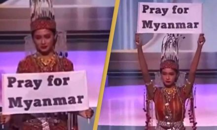 Miss Universe Myanmar Wins Costume Competition With Powerful Political Crisis Message