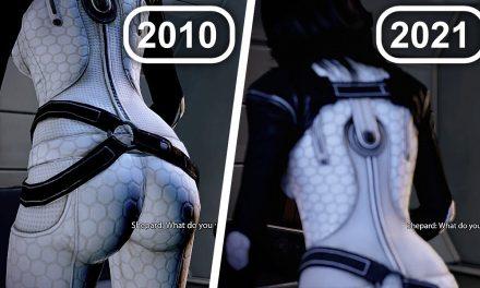 Miranda Butt Comparison Scene – Mass Effect Legendary Edition (2021) Vs Mass Effect 2 (2010)
