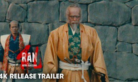 Ran (1985 Movie) Official 4K Release Trailer – Akira Kurosawa