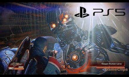 MASS EFFECT 2 LEGENDARY EDITION Ending & Final Boss Fight PS5 4K ULTRA HD