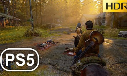 THE LAST OF US 2 PS5 Enhanced Gameplay 4K 60FPS HDR