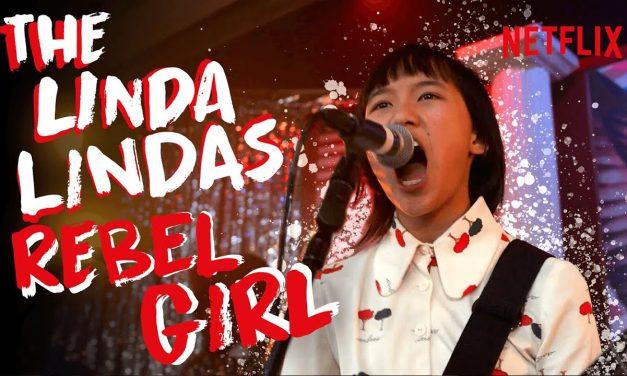 The Linda Lindas Perform REBEL GIRL (Official Video) | Moxie