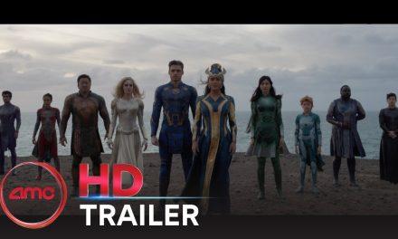THE ETERNALS – Teaser Trailer (Richard Madden, Gemma Chan, Kumail Nanjiani)   AMC Theatres 2021