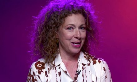 Alex Kingston Answers Your Questions! | The Ruby's Curse | Doctor Who
