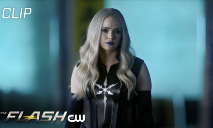 The Flash | Season 7 Episode 11 | Frost Catches Chillblaine Robbing Ivo Labs Scene | The CW