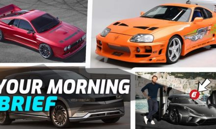 2022 Genesis GV70, Fast & The Furious Supra For Sale, Hyundai Ioniq Family, Koenigsegg Regera, Dodge Muscle Going Electric: Your Morning Brief