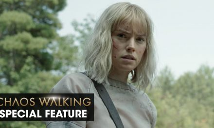 """Chaos Walking (2021 Movie) Special Feature """"Daisy Ridley on Her Character """" – Tom Holland"""