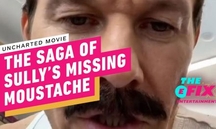 Uncharted Movie: The Saga of Sully's Missing Moustache – IGN The Fix: Entertainment