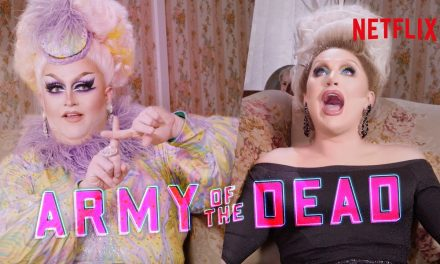 Drag Queens The Vivienne & Lawrence Chaney React to Army of the Dead | I Like to Watch UK Ep 13