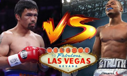 Manny Pacquiao Fighting Errol Spence on August 21 in Las Vegas