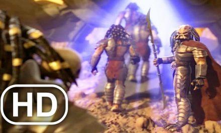 PREDATOR Sent To Alien Planet To Battle Scene 4K ULTRA HD – Predator Concrete Jungle