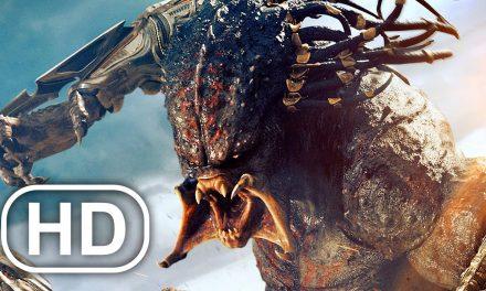 Predalien Vs Predator Fight Scene FULL BATTLE 4K ULTRA HD – Aliens Vs Predator