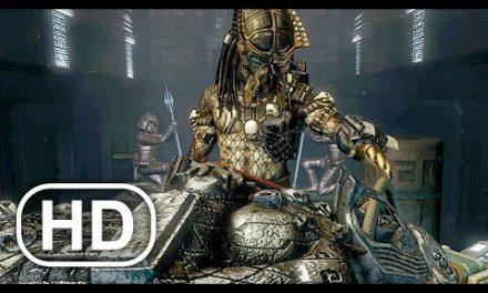 Predator Finds Ancient Armor Mask Scene 4K ULTRA HD – Aliens Vs Predator
