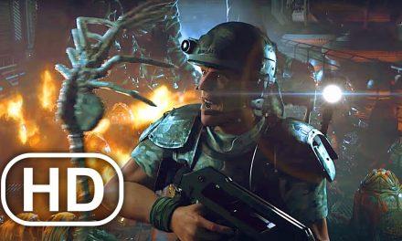 Alien Chestburster Scene 4K ULTRA HD – Aliens Colonial Marines