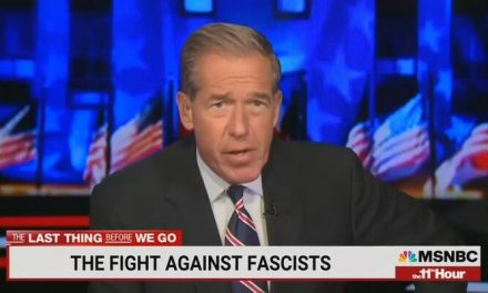 Outrageous: Brian Williams Pushes Ad Likening Antifa Terrorists to American Patriots
