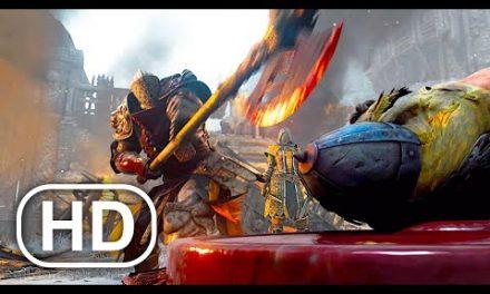 Knights Execute Vikings Prisoners Scene 4K ULTRA HD (2021) For Honor Cinematic