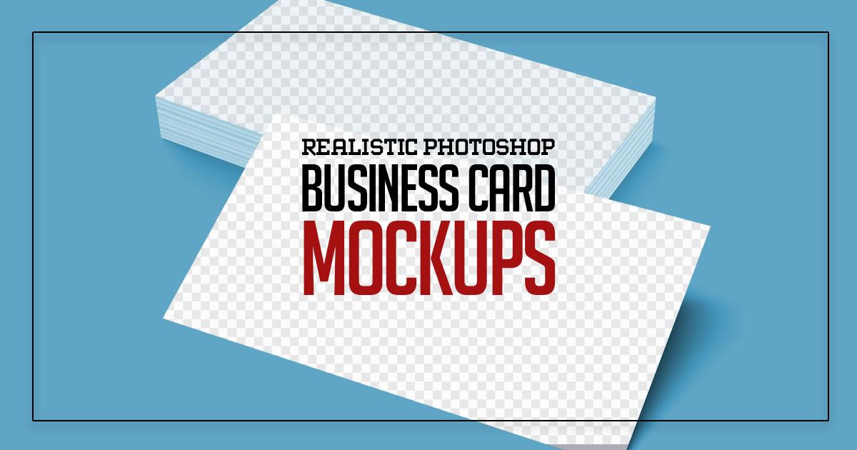 Business Card Mockups (25+ Design)