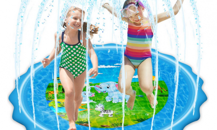 VOROSY Sprinkler & Splash Play Mat only $10.49!