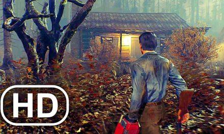 EVIL DEAD Gameplay Trailer NEW PS5 (2021) 4K ULTRA HD