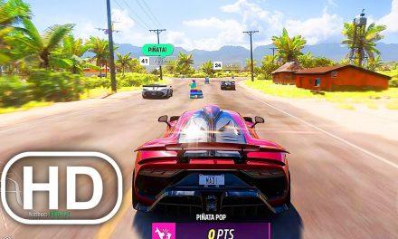 FORZA HORIZON 5 Gameplay Demo NEW Xbox Series X (2021) HD