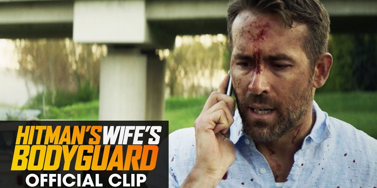 """The Hitman's Wife's Bodyguard (2021 Movie) Official Clip """"Who Were You Talking To"""" – Ryan Reynolds"""
