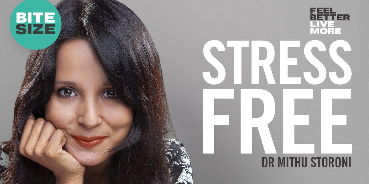 BITESIZE | Simple Daily Habits to Reduce Stress and Anxiety | Dr Mithu Storoni