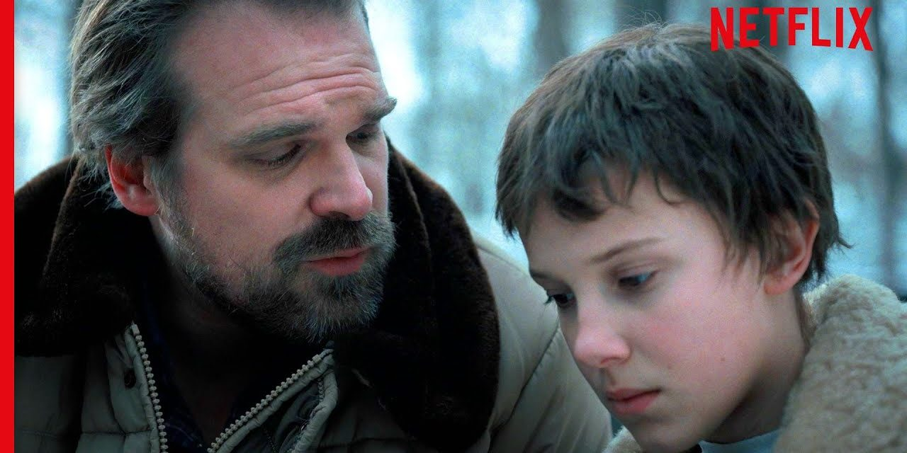 Jim Hopper Being The Ultimate Dad | Stranger Things | Netflix