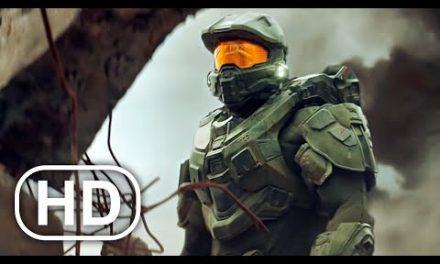 Master Chief Destroys Entire Ship With Aliens Scene 4K ULTRA HD – Halo Cinematic
