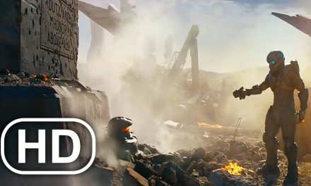 Master Chief Vs Spartan Locke LIVE ACTION Battle Scene 4K ULTRA HD – Halo Cinematic