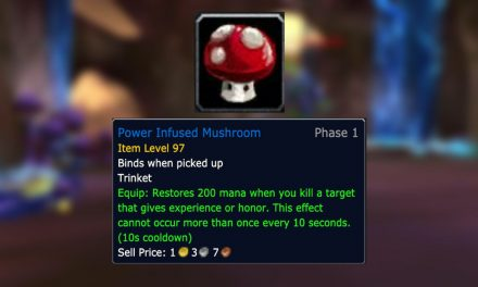 How to Get Power Infused Mushroom in WOW: Burning Crusade Classic
