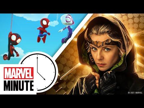 Loki Variants, Spidey Friends, and More! | Marvel Minute