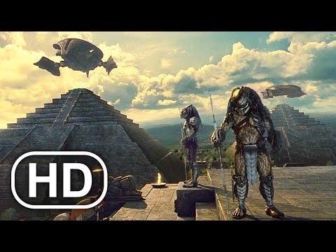 Predator Visits Alien Homeworld Scene 4K ULTRA HD – Aliens Vs Predator