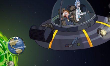 Rick & Morty Celebrates World UFO Day With News Video Of Rick's Ship