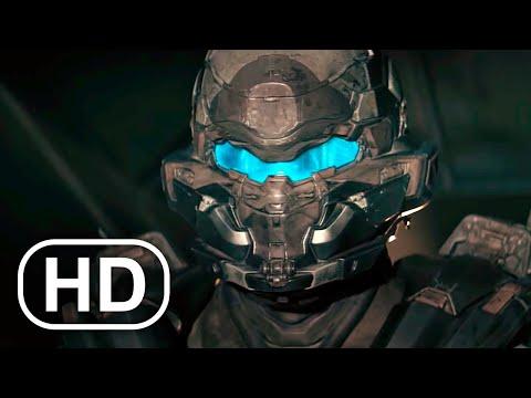 Master Chief Vs Spartan Locke Fight Scene FULL BATTLE 4K ULTRA HD – Halo Cinematic