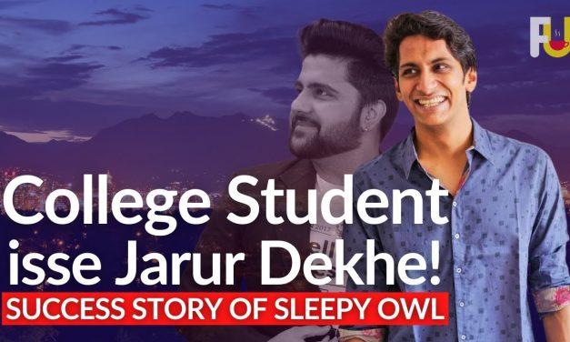 Kese College Students ne Apni Coffee ki Startup Banai! Story of Sleepy Owl #FoundersUnfiltered