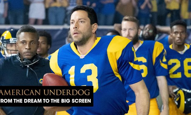 """American Underdog (2021 Movie) """"From The Dream to The Big Screen"""" Behind the Scenes – Zachary Levi"""