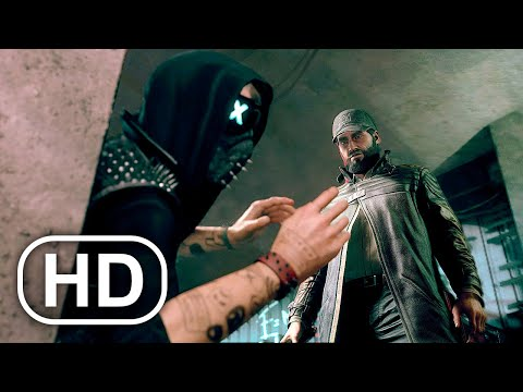 Aiden Pearce Meets Wrench Scene 4K ULTRA HD – Watch Dogs Legion Bloodline Cinematic