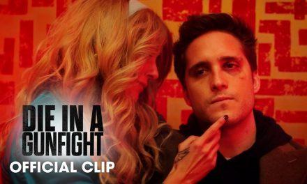 "Die In A Gunfight (2021 Movie) Clip ""What's It Going To Be"" – Diego Boneta, Alexandra Daddario"