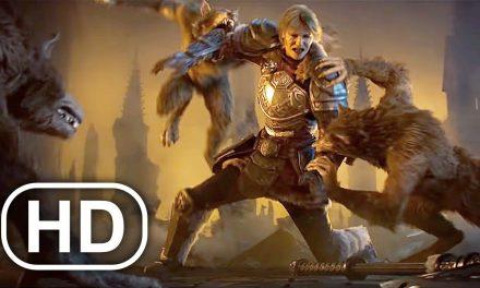Werewolf Battle Fight Scene 4K ULTRA HD Cinematic
