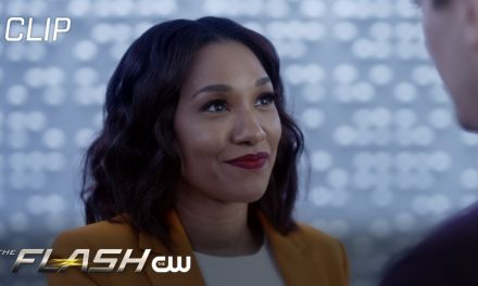 The Flash | Season 7 Episode 17 | Iris Tells Barry About The Still Force Scene | The CW