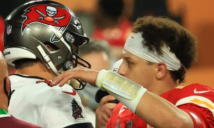 """Patrick Mahomes: """"Still early"""" for comparisons with Tom Brady"""