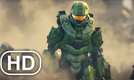 Master Chief Destroys Everyone & Everything Scene 4K ULTRA HD – Halo Cinematic