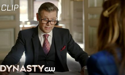 Dynasty   Season 4 Episode 10   The Hackers Didn't Get Anything Scene   The CW