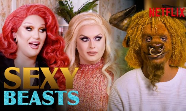 Drag Queens The Vivienne and Cheryl Hole React To Sexy Beasts | I Like To Watch | Netflix