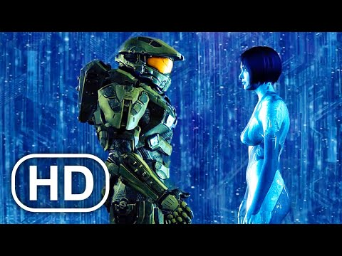 Master Chief Betrayed By His Crush Scene 4K ULTRA HD – Halo Cinematic