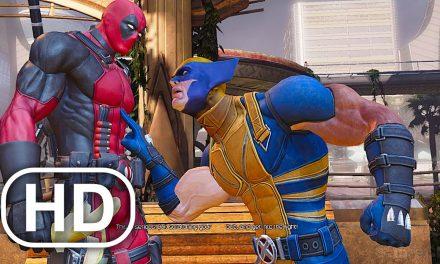 Deadpool Fights Wolverine Almost Scene 4K ULTRA HD