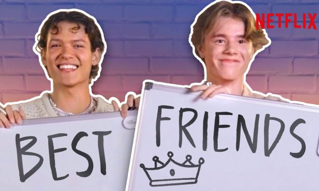 The Young Royals Cast Take The BFF Challenge | Netflix