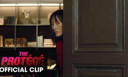 """The Protégé (2021 Movie) Official Clip """"Mansion Duel"""" – Michael Keaton, Maggie Q"""