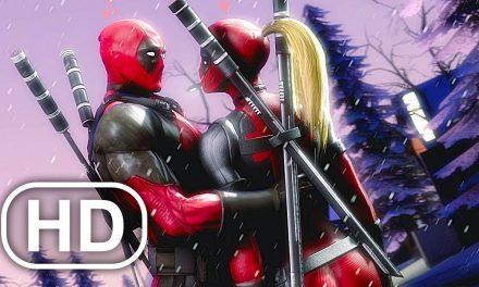 Lady Deadpool Saves Wade Scene 4K ULTRA HD Superhero