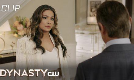 Dynasty   Season 4 Episode 11   Fallon Is On Edge Scene   The CW